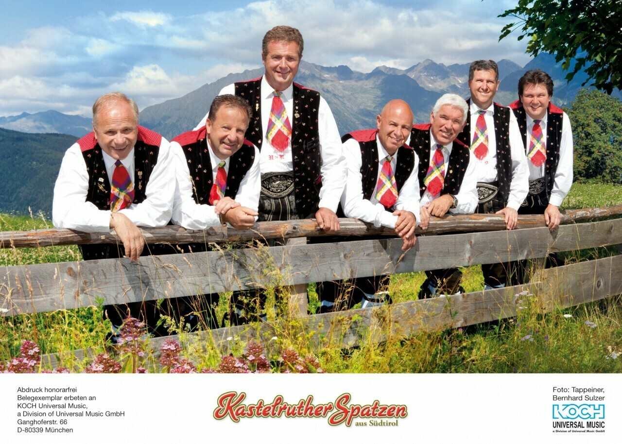 Kastelruther Spatzen in Südtirol Muttertagsreise